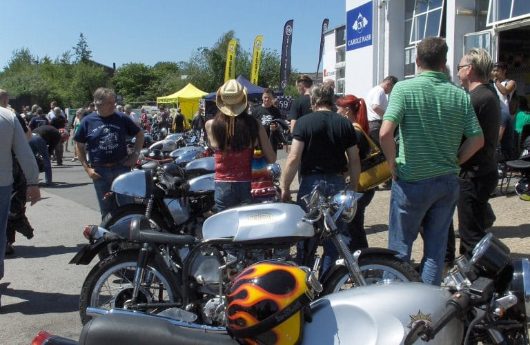 Triton & Cafe Racer Day (with 59 Club & Busy Bee Club)