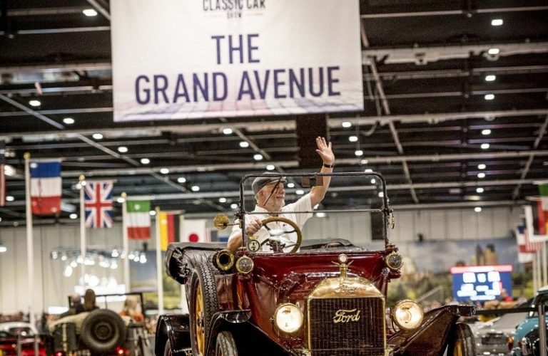 Win tickets to The London Classic Car Show