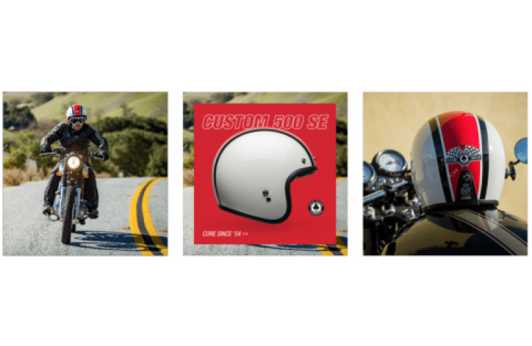 Ace 80th Anniversary Limited Edition Bell Helmets