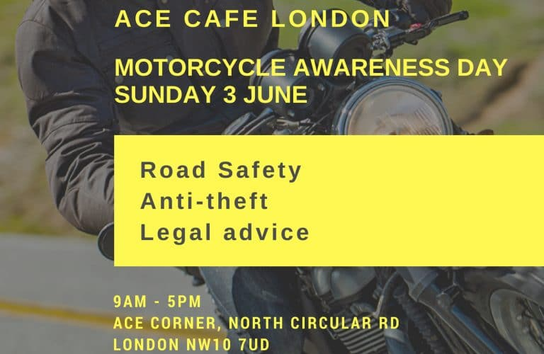 Ace Cafe London - MAD Sunday 3rd June (in aid of SERV)