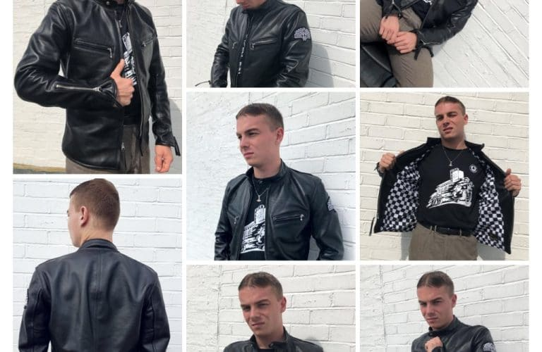 New and now in! The Ace Cafe Leather Jacket.