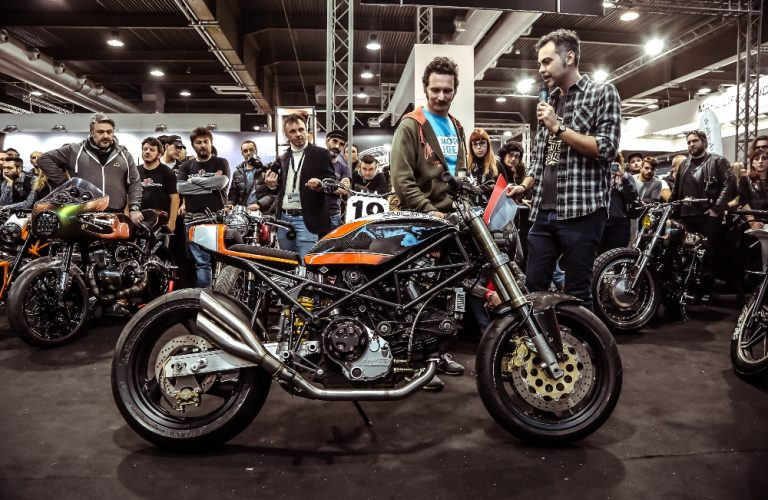 Ace at Verona Motor Bike Expo 2019