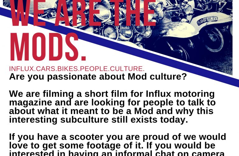 We Are The Mods Call Out!