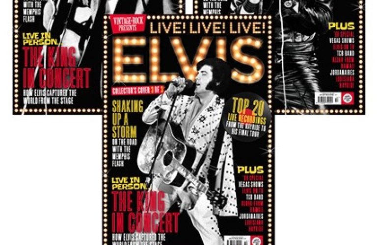 Vintage Rock Magazine celebrates Elvis with 3-cover special edition