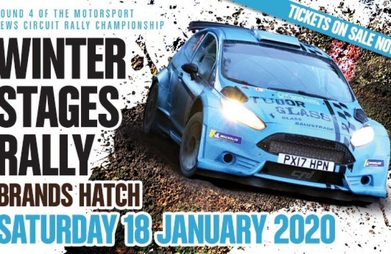 Win tickets to the Winter Stages Rally @ Brands Hatch!