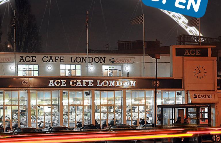 Ace Cafe is back!