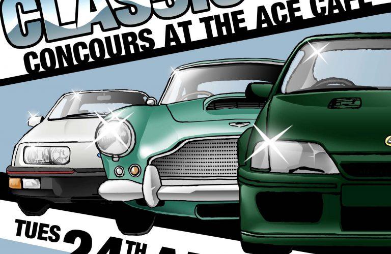 Ace Cafe Hosts Harrow Car Club 24th August